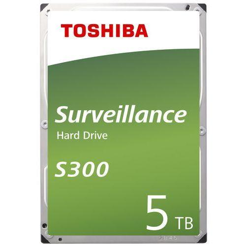 Dysk Toshiba S300 HDWT150UZSVA 5TB SATA Surveillance BULK (4547808810692)