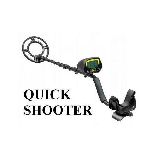 Wykrywacz Metali QUICK SHOOTER z Ekranem LCD + Rozróżnianie Metali + Wskaźnik Głębokości..., 5908973415261