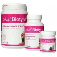 Dolfos biotyna - preparat mineralno - witaminowy dla psów poprawia kondycję skóry i sierści (tabletki) 800g