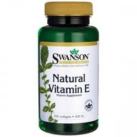 Swanson Witamina E Naturalna 200IU - (250 kap)