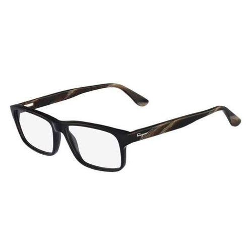 Salvatore ferragamo Okulary korekcyjne sf 2689 001