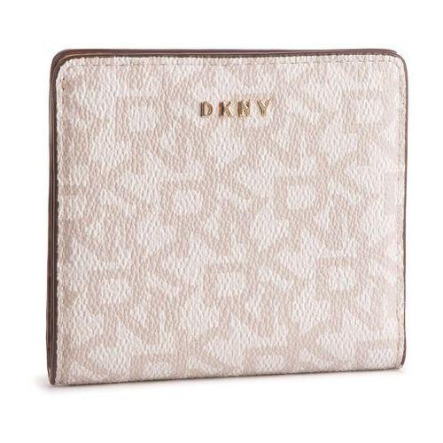 338525ef199f0 DKNY Mały Portfel Damski DKNY - Bryant Bifold Wallet Logo R83ZJ657 Hmp  Logo Lat HOK