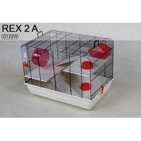Inter-zoo rex ii g122w klatka dla chomika 59x38x43cm marki Inter zoo