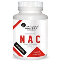 Aliness - NAC N-Acetyle L-Cysteina 500mg - 100caps