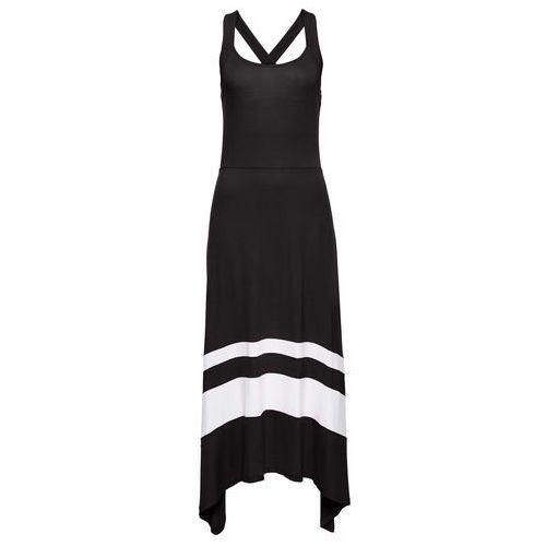 Sukienka letnia czarno-biały Bonprix