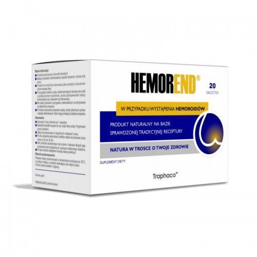Hemorend 20 saszetek preparat na hemoroidy