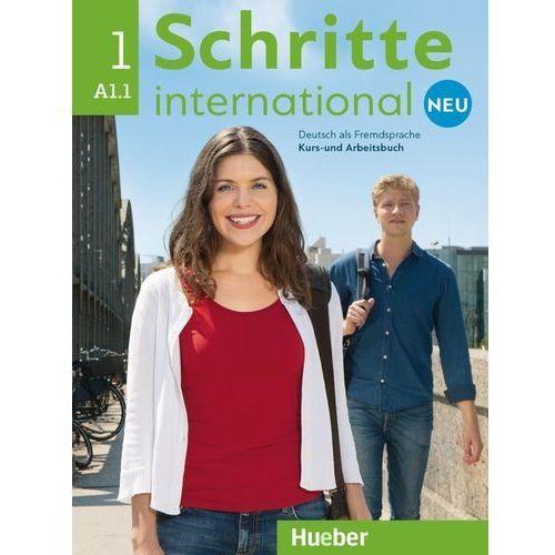 Schritte International Neu 1 (A1.1). Podręcznik + Ćwiczenia + CD, oprawa miękka
