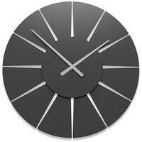 Zegar ścienny Extreme L CalleaDesign czarny, kolor Zegar