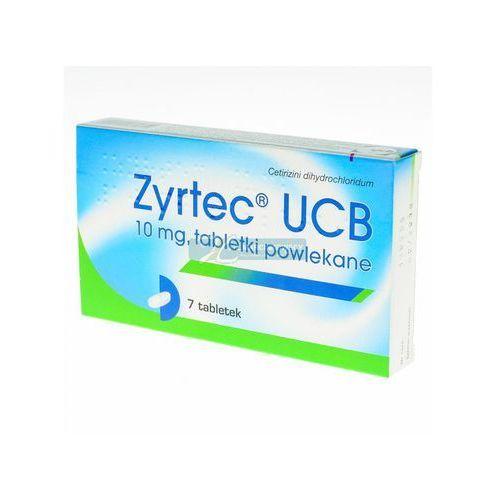 Tabletki Zyrtec UCB tabl.powl. 0,01 g 7 tabl.