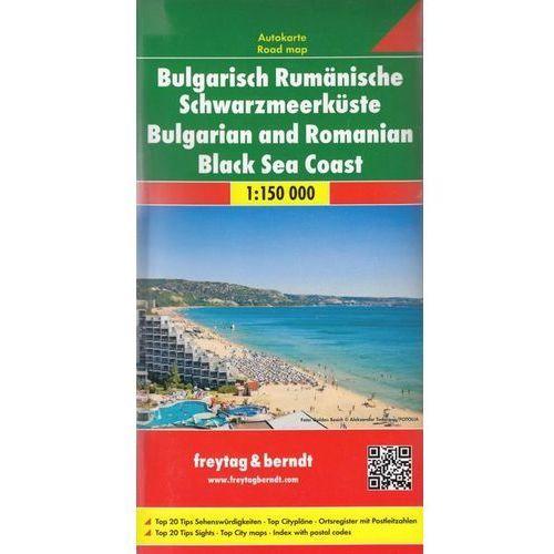 Bułgaria i Rumunia Wybrzeże Morza Czarnego mapa 1:150 000 Freytag & Berndt (2 str.)