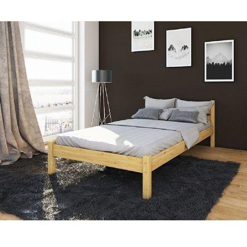 łóżko Sosnowe Pojedyncze Z Materacem 200x90