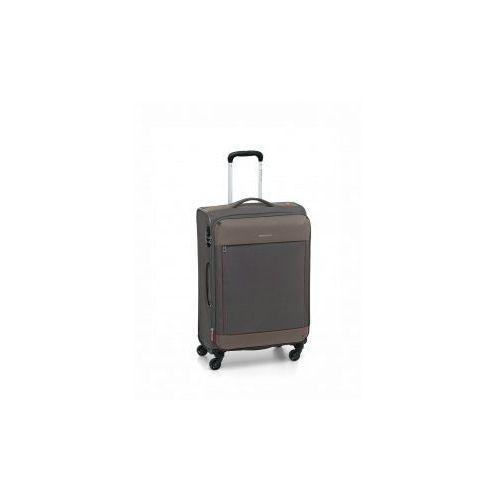 Roncato walizka mała/ kabinowa z kolekcji connection 4 koła materiał nylon/ polyester zamek szyfrowy tsa