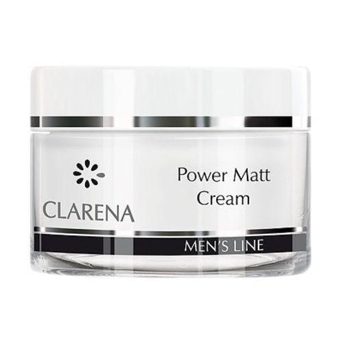 Power matt cream lekki krem matujący dla mężczyzn (3013) Clarena