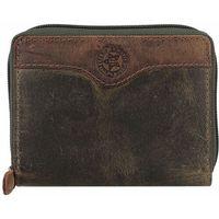 Billy the Kid Hunter Portfel RFID skórzana 12.5 cm khaki/brown ZAPISZ SIĘ DO NASZEGO NEWSLETTERA, A OTRZYMASZ VOUCHER Z 15% ZNIŻKĄ