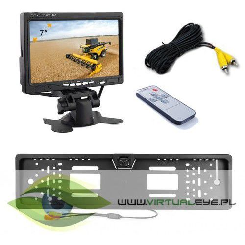Virtualeye Kamera cofania rejestracja monitor 7 cali ir 6m