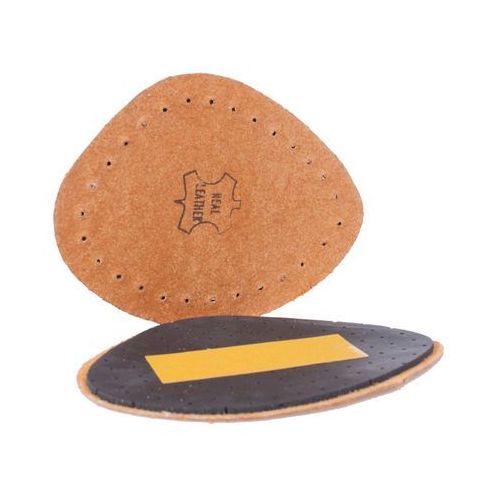 Omniskus Skórzane pół wkładki do butów ze skóry naturalnej - wklejane - czarne (5903021523440)