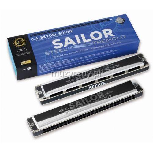26480c sailor steel 48 c, harmonijka ustna marki Seydel
