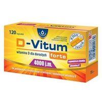 D-VITUM FORTE ® 4000 j.m. - witamina D 120 kaps (5904960011869)