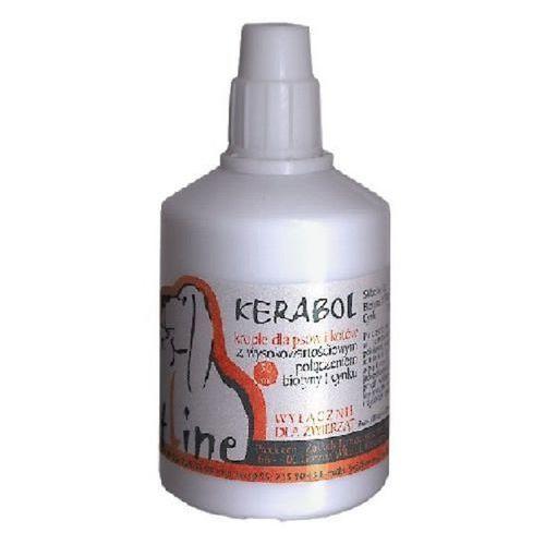 VETOQUINOL Kerabol - preparat do stosowania przy nadmiernym wypadaniu włosów, łamliwej, matowej i suchej sierści 50ml