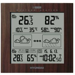 Termometry i stacje pogodowe  HYUNDAI