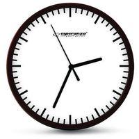 Zegar ścienny Esperanza Budapest Biały Ehc010w