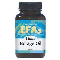 Kapsułki Swanson Borage Oil - Olej z ogórecznika 60 kaps.