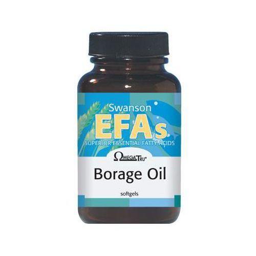 Kapsułki Swanson Borage Oil - Olej z ogórecznika 60 kaps