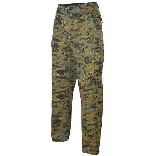 spodnie bdu wzmocnione digital woodland (marpat) - digital woodland (marpat) marki Mil-tec