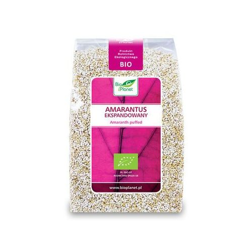 Bio planet : amarantus ekspandowany bio - 100 g