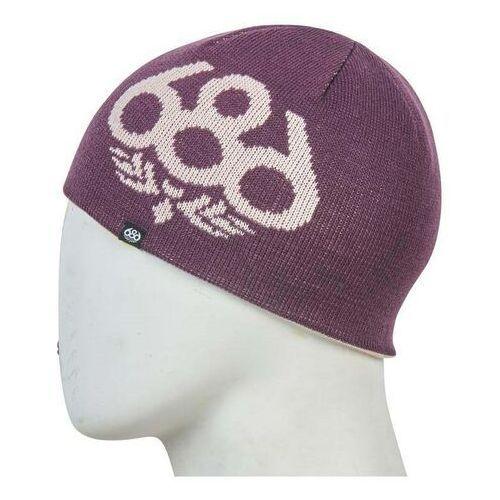 czapka zimowa 686 - Glow Reversible Beanie Dusty Pink (DSPK) rozmiar: OS