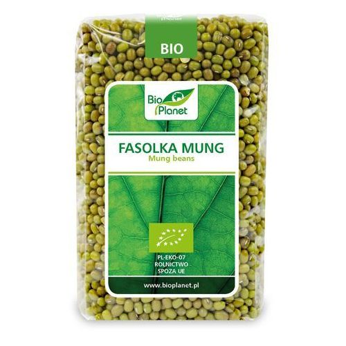 Fasolka mung bio 500 g - bio planet Bio planet - seria zielona (strączkowe)