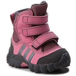 Śniegowce adidas - Cw Holtanna Snow Cf I D97660 Tramar/Carbon/Grefou, kolor różowy
