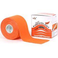 Taśma do tapingu nasara logy tape 5cm x 5m - pomarańczowa marki Kinesio