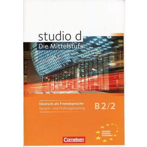 Studio d B2/2 Sprach und Prufungstraining (64 str.)