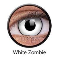 Crazy Lens RX - White Zombie, 2 szt.