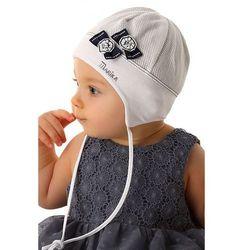 Czapka niemowlęca wiązana 5X34CR
