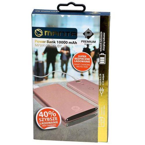 ab87d3ce2e5c9e Powerbank MPB910RG 10000 mAh Różowe złoto (MANTA) recenzje / opinie ...