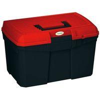 Kerbl pudełko na narzędzia do pielęgnacji siena, czarno-czerwone (4018653028568)