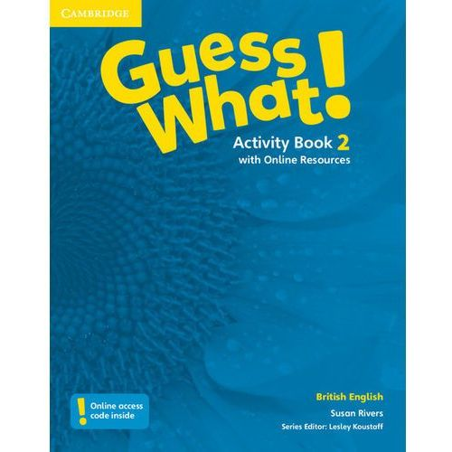 Guess What! 2 Activity Book with Online Resources - Wysyłka od 3,99, Rivers Susan