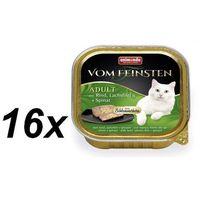 ANIMONDA Vom Feinsten Classic Cat smak: wołowina, łosoś + szpinak 100g, KANI070