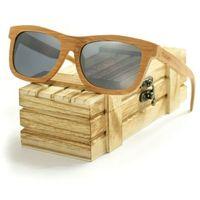 Drewniane okulary przeciwsłoneczne Niwatch Lupus Silver