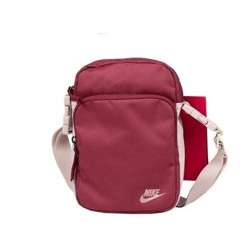Nike Torebka heritage smit 2.0 bordowa ba5898 661
