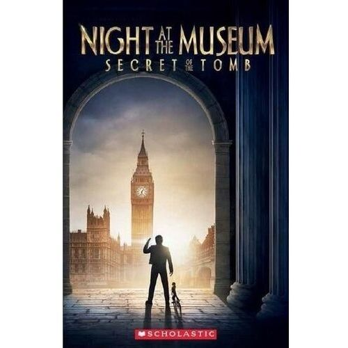 Night at the museum: secret of... reader a2 + cd, oprawa broszurowa