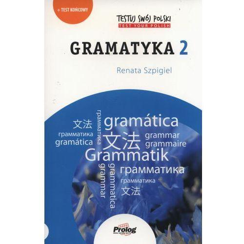 Testuj swój polski Gramatyka 2, oprawa miękka