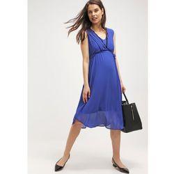MAMALICIOUS MLNEWMONA Sukienka letnia deep ultramarine - produkt z kategorii- Sukienki ciążowe