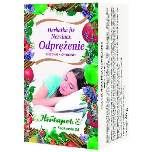 Herbatka fix nervinex odprężenie x 20 saszetek Herbapol kraków