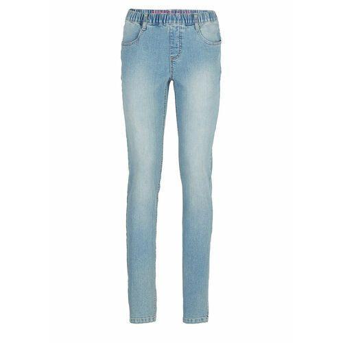 "Bonprix Jegginsy dżinsowe niebieski ""medium bleached"""