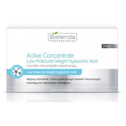 Meso med program active concentrate low molecular weight hyaluronic acid aktywny koncentrat z niskocząsteczkowym kwasem hialuronowym Bielenda professional