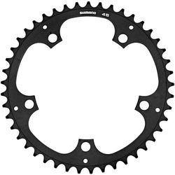 Shimano alfine fc-s501 zębatka rowerowa 1-częściowy, black 45t 2021 zębatki przednie