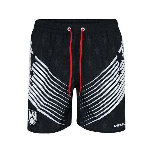 szorty kąpielowe 'sw boxer medium' czarny marki Diesel